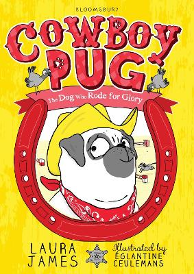 Cover for Cowboy Pug by Laura James