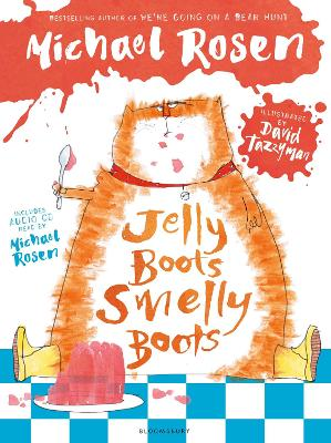Cover for Jelly Boots, Smelly Boots by Michael Rosen
