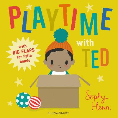 Cover for Playtime with Ted by Sophy Henn