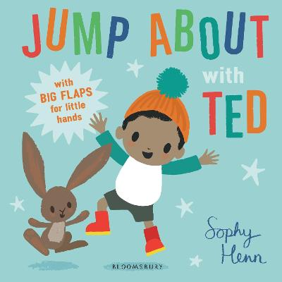 Cover for Jump About with Ted by Sophy Henn