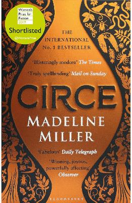 Cover for Circe  by Madeline Miller