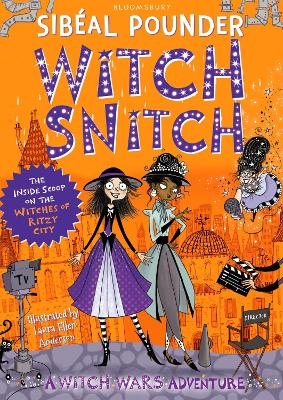 Cover for Witch Snitch by Sibéal Pounder