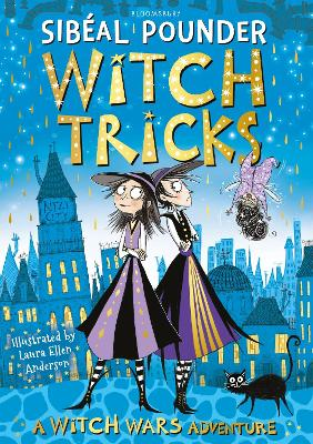 Cover for Witch Tricks by Sibéal Pounder