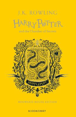 Cover for Harry Potter and the Chamber of Secrets - Hufflepuff Edition by J.K. Rowling