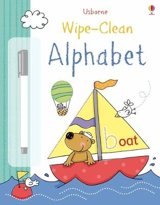 Wipe-Clean Alphabet by Felicity Brooks