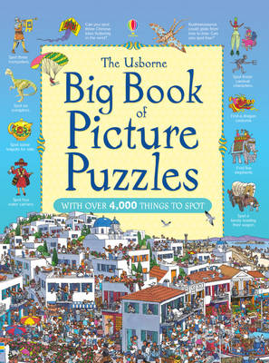 The Usborne Big Book of Picture Puzzles by