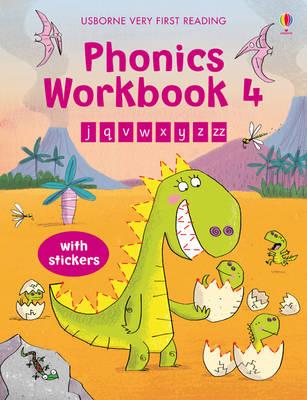Phonics Workbook 4 Very First Reading by Mairi Mackinnon