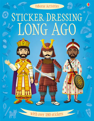 Sticker Dressing Long Ago by Megan Cullis