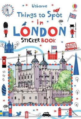 Things to Spot in London Sticker Book by