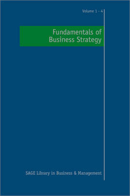 Fundamentals of Business Strategy by Mie Augier