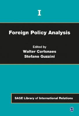 Foreign Policy Analysis by Walter E. Carlsnaes