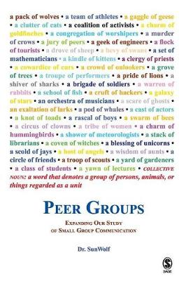 Peer Groups Expanding Our Study of Small Group Communication by SunWolf