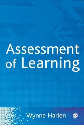 Assessment of Learning by Wynne, OBE Harlen