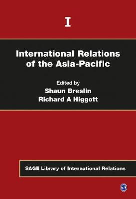 International Relations of the Asia-Pacific by Shaun Breslin