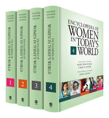 Encyclopedia of Women in Today's World by Mary Zeiss Stange