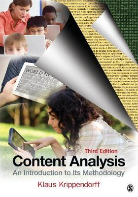 Content Analysis An Introduction to Its Methodology by Klaus Krippendorff