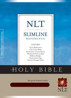 Slimline Reference Bible-NLT by Tyndale