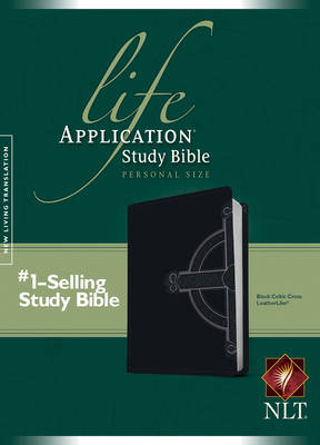Life Application Study Bible-NLT-Personal Size Celtic Cross by Tyndale