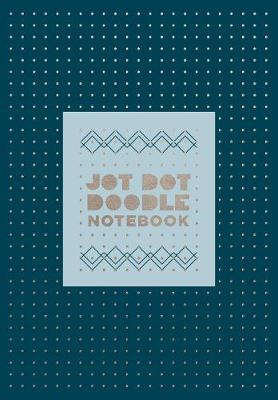 Jot Dot Doodle Notebook (Blue and Silver) by Robie Rogge