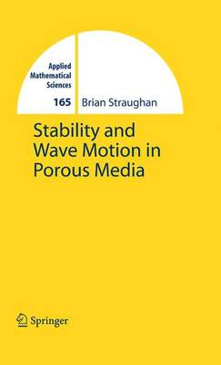 Stability and Wave Motion in Porous Media by Brian Straughan