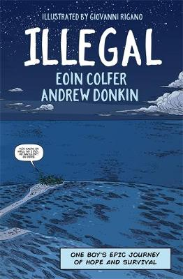 Book Cover for Illegal by Eoin Colfer, Andrew Donkin