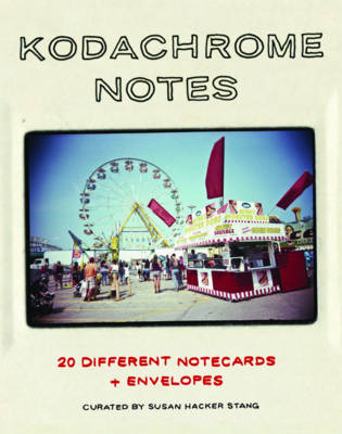 Kodachrome Notes 20 Different Notecards and Envelopes by Susan Hacker Stang