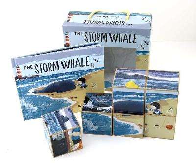 Cover for Storm Whale Book and Puzzle by Benji Davies