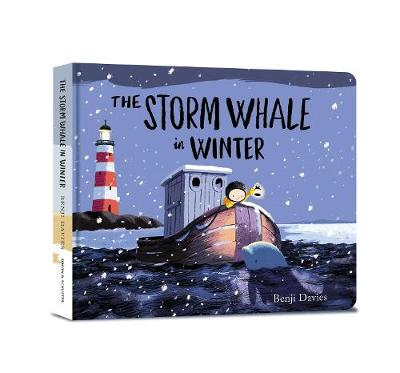 Cover for The Storm Whale in Winter by Benji Davies