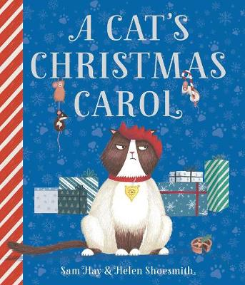 Cover for A Cat's Christmas Carol by Sam Hay