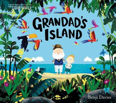 Cover for Grandad's Island by Benji Davies