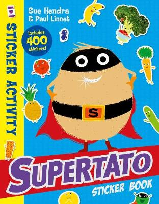Cover for Supertato Sticker Book by Sue Hendra, Paul Linnet