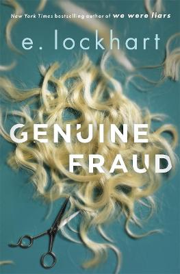 Cover for Genuine Fraud by E. Lockhart
