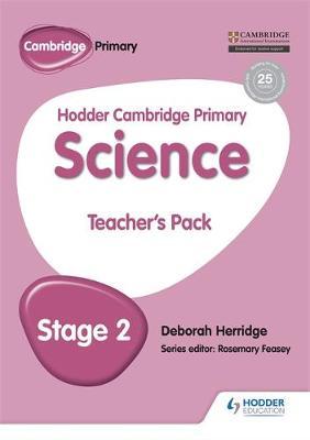 Hodder Cambridge Primary Science Teacher's Pack 2 by Deborah Herridge