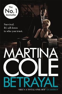 Cover for Betrayal by Martina Cole