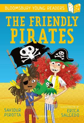 Cover for The Friendly Pirates: A Bloomsbury Young Reader by Saviour Pirotta