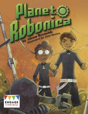 Cover for Planet Robonica by Alison Reynolds