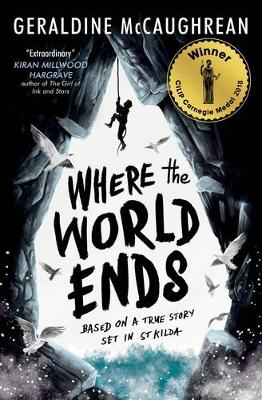 Cover for Where the World Ends by Geraldine McCaughrean