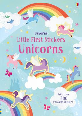 Cover for Little First Stickers Unicorns by Hannah Watson