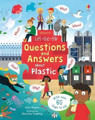 Book Cover for Lift-the-Flap Questions and Answers About Plastic by Katie Daynes
