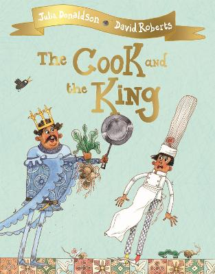 Cover for The Cook and the King by Julia Donaldson