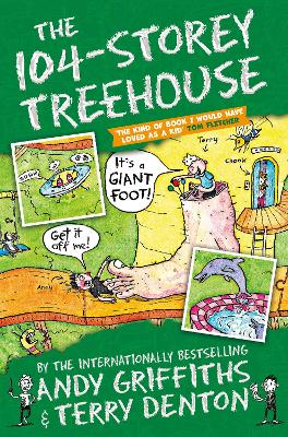 Cover for The 104-Storey Treehouse by Andy Griffiths