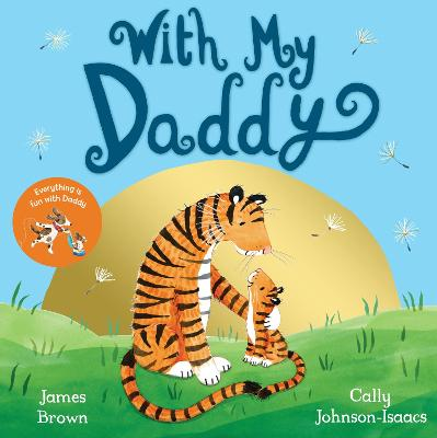 Cover for With My Daddy by James Brown