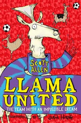 Cover for Llama United by Scott Allen