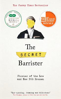 Cover for The Secret Barrister  by The Secret Barrister