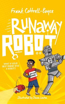 Cover for Runaway Robot by Frank Cottrell Boyce