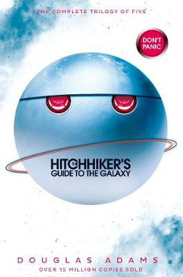 Cover for The Hitchhiker's Guide to the Galaxy Omnibus A Trilogy in Five Parts by Douglas Adams