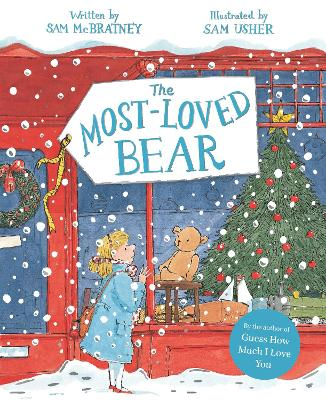 Cover for The Most-Loved Bear by Sam McBratney