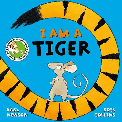 Cover for I am a Tiger by Karl Newson