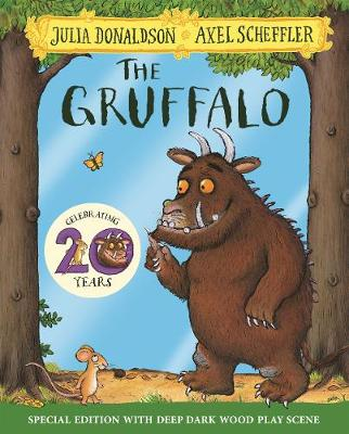 Cover for The Gruffalo 20th Anniversary Edition by Julia Donaldson