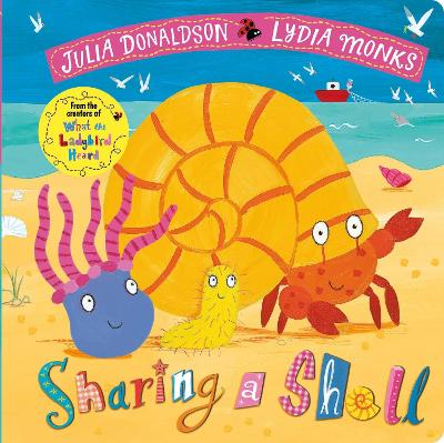 Cover for Sharing a Shell by Julia Donaldson
